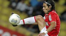 Monaco's Radamel Falcao of Colombia is set to join Manchester United on loan (Lionel Cironneau/AP)