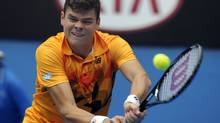 Milos Raonic (Associated Press)