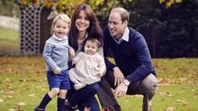 Kensington Palace has confirmed that Prince William and his wife, Kate, will be bringing their children Prince George and Princess Charlotte with them to Canada later this month. (Chris Jelf/THE CANADIAN PRESS)