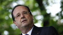 French President Francois Hollande. (GONZALO FUENTES/REUTERS)