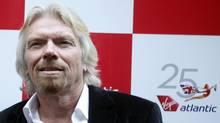 British entrepreneur Richard Branson arrives at the Virgin Atlantic 25th anniversary party in New York June 22, 2009. (ERIC THAYER/REUTERS)