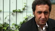 Paolo Sorrentino, director of Il Divo. (Fernando Morales)
