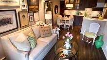 Jillian Harris's living room (John Lehmann/The Globe and Mail)