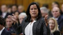 Canada's Justice Minister Jody Wilson-Raybould speaks during Question Period in the House of Commons on Parliament Hill in Ottawa, Canada, February 22, 2016. Kirsten Mercer, a former Kathleen Wynne adviser, was the official selected to run Ms. Wilson-Raybould's office; however, she has been shuffled out. (CHRIS WATTIE/REUTERS)