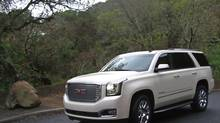 At $73,540, it isn't cheap, but GM's Yukon Denali has a big 6.2-litre V-8 engine separates it from the less pricey models. (Dan Proudfoot/The Globe and Mail)