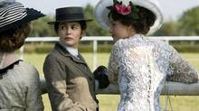Audrey Tautou, middle, as Coco Chanel: She's a consistent delight to watch as her dark, penetrating eyes constantly scan the surface of things, observing all and missing nothing. (Chantal Thomine-Desmazures/Haut et Court - Cine@ - Warnerbros. Ent. France et France 2 Cinema)