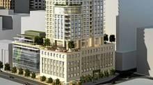 On Site, 88 Scott Condominiums, Financial District, Toronto (Concert Properties/Concert Properties)