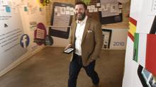 Michael Tamblyn knows he has his work cut out in the e-reader market. (Fred Lum/The Globe and Mail)