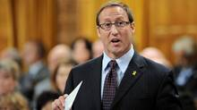Defence Minister Peter MacKay speaks during Question Period in the House of Commons on Sept. 22, 2011. (Sean Kilpatrick/THE CANADIAN PRESS)