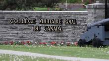 The Royal Military College of Canada in Kingston, Ont., on May 22, 2015. (Lars Hagberg For The Globe and Mail)