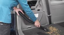 The vacuum on Honda's Odyssey will run for eight minutes after the vehicle is shut off. (Associated Press)