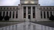 The facade of the U.S. Federal Reserve building in Washington is seen in this file photo. (© Jonathan Ernst / Reuters)