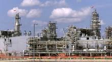 General view of the hydrocarbons processing complex in Karachaganak, northwestern Kazakhstan. Shamil Zhumatov/Reuters
