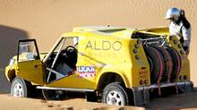 Driver and team founder David Bensadoun, 41 and from Montreal, is a senior executive at Aldo shoes and son of the company founder. He is also a long-time amateur touring car, rally and off-road motorcycle racer.