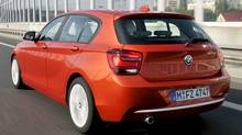 The BMW 1-Series hatchback with a diesel engine is not available in Canada (BMW)