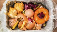 Food waste in a garbage or compost bin. (Thinkstock)
