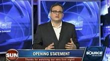 Sun News broadcaster Ezra Levant.