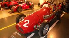 Inside the Ferrari museum: a 500F2. (Bob English for the Globe and Mail)