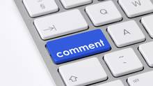 Comment button (Photos.com, a division of Getty Images)