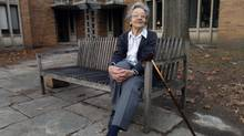 Ursula Franklin, pictured in 2006, committed herself to social justice and to deeply engaged citizenship. (Fred Lum/The Globe and Mail)