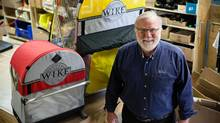 By manufacturing such whimsical products as a bicycle trailer that carries a kayak, Bob Bell's company, Wike, has fought off big competitors by staying under their radar. But how does a small-town company that makes niche products set a course for growth? (Rosa Park For The Globe and Mail)