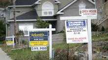 File photo of houses and lots for sale in Halifax. (Sandor Fizli/The Globe and Mail)