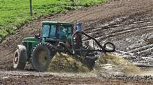 The Environmental Law Centre said the government breached the Freedom of Information and Protection of Privacy Act by delaying public access to authorizations that allowed a farm to continue spreading manure on land over the aquifer, and by refusing to release soil test results. (Al Price)