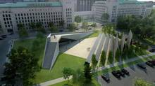 In Ottawa, the north side of Confederation Boulevard, which includes the Houses of Parliament, the Supreme Court of Canada – and soon, possibly, a Memorial to the Victims of Communism.