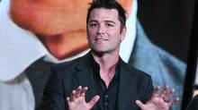 Actor Yannick Bisson speaks onstage during the The Artful Detective panel at the Ovation 2016 Winter TCA on Jan. 5 in Pasadena, Calif. (Richard Shotwell/Richard Shotwell/Invision/AP)