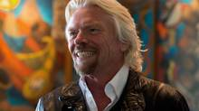 Richard Branson's formula for good management: 'Walk the floor, get to know your people.' (Darryl Dyck/The Canadian Press)