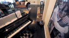 Chantal Kreviazuk's home in Los Angeles, California (Jill Connelly)