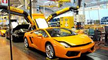 Lamborghini factory (Petrina Gentile for The Globe and Mail)