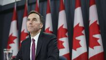 In the coming days, Finance Minister Bill Morneau will announce that the promised tax hike on the richest Canadians won't cover the entire cost of the tax cuts of the middle class. (Chris Wattie/Reuters)