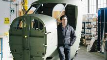 Dave Curtis is the CEO of Viking Air, which builds two Twin Otters each month (Grant Harder/Report on Business magazine)