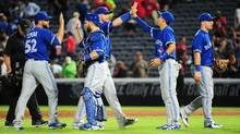 For the first time since they last faced the Red Sox, the Blue Jays looked lackadaisical and weary in the weekend series against Boston. (Scott Cunningham/Getty Images)