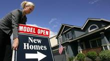 Existing home sales in the U.S. rose 2.1 per cent in October from September. (DON RYAN/AP)