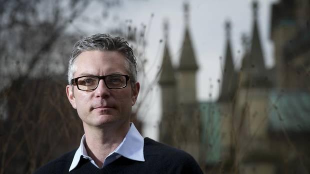 Author Andrew Pyper in Toronto, Ont. Jan. 4, 2011.