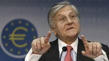 ECB chief Jean-Claude Trichet (JOHANNES EISELE)