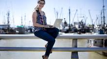 Richmond food blogger Lindsay Anderson has received worldwide attention, and Tourism Richmond membership has grown. (John Lehmann/The Globe and Mail)