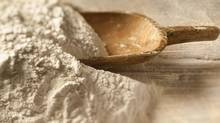 The Canadian Food Inspection Agency is issuing a recall for the Robin Hood brand of all-purpose flour sold in Western Canada due to possible E. coli contamination. (gorgev/Getty Images/iStockphoto)