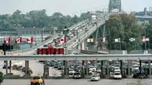 The Peace Bridge in Fort Erie, Ont. (COREY LAROCQUE/CP)