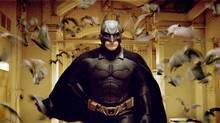 Christian Bale stars as Batman in Warner Bros. Pictures' Batman Begins. (WARNER BROS.)