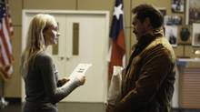 The Bridge, starting in July, follows two detectives, American Sonya Cross (Diane Kruger), from El Paso, Tex., and Mexican Marco Ruiz (Demian Bichir, Oscar nominee for A Better Life), from Chihuahua State Police, as they work to catch a serial killer.
