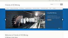 A snapshot of the Friends of HD Mining website.