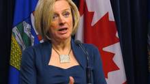 Alberta Premier Rachel Notley has asked the government to make the Trans Mountain pipeline expansion a priority. (Dean Bennett/THE CANADIAN PRESS)