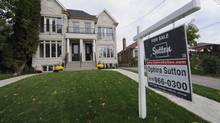 The right house still attracts multiple offers, but the frenzy of last spring is gone. (Fred Lum/The Globe and Mail)