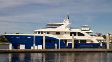 Paul McDonald's 34-metre yacht, Fortrus, left Fort Lauderdale, Fla., last July with a plan to circumvent North America. (Captain Larry Spisak)