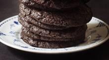 Chocolate chocolate cookies from Momofuku Milk Bar.