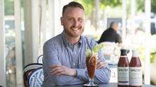 Joshua Linde is one of three partners running Brutus Beverages. (Kevin Van Paassen for The Globe and Mail)