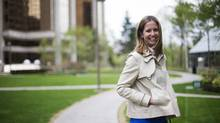 Susie Hendrie got help finding a job from Toronto Homecoming. (Michelle Siu/The Globe and Mail)